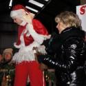 Opening kerstmarkt door Houkje Rijpstra, wethouder Tytsjerksteradiel